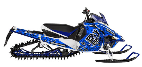Yamaha Viper full Sled wrap