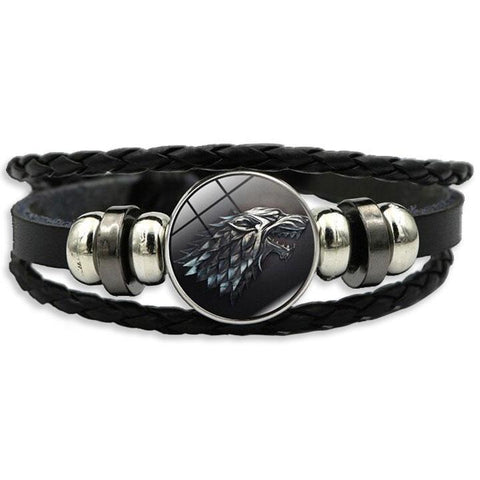 Bracelet Loup Game of Thrones