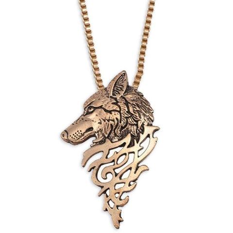 Collier Loup Celtique