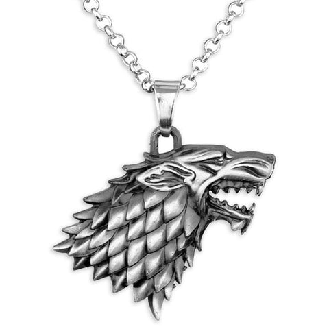 Collier Loup Game of Thrones