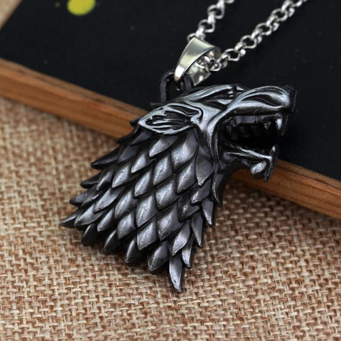 Pendentif Loup Game of Thrones