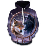 Sweat Loup Attrape Rêve