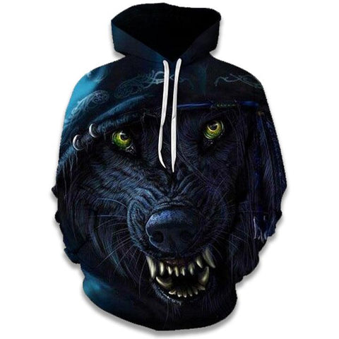 Sweat Loup Féroce