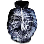 Sweat Loup Indien
