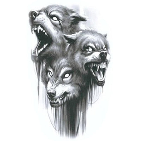 tattoo loup homme