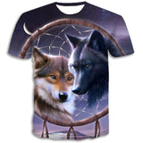 T-Shirt Chien Loup