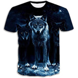 T-Shirt Loup Johnny