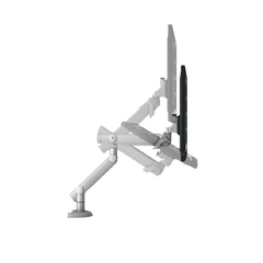 Dynafly Dual Adjustable Monitor Arm