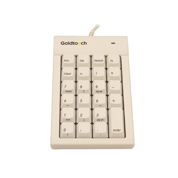 Goldtouch Mac USB Numeric Keypad | White