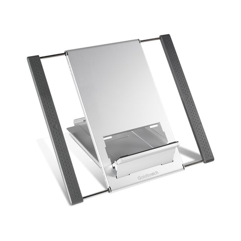aluminum laptop and tablet stand