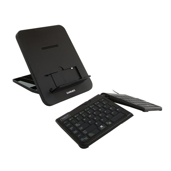 Go!2 Mobile Keyboard and Composite Resin Laptop Stand