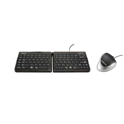 ergonomic keyboard and mouse bundle