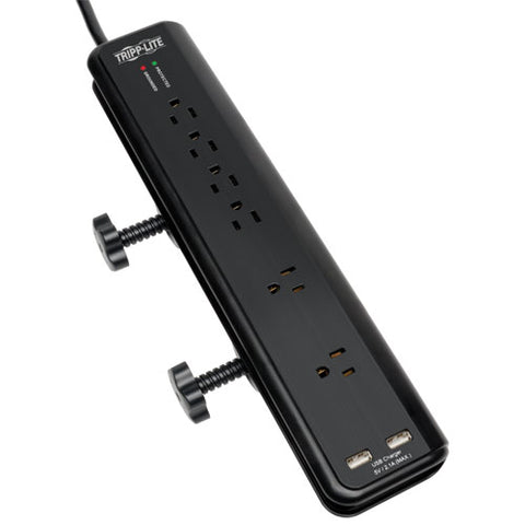 Tripp Lite Clamp-Mount Surge Protector