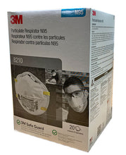 Load image into Gallery viewer, 3M™ 8210 NIOSH N95 Masks (20 Masks)