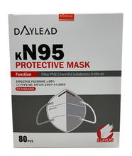 Load image into Gallery viewer, DAYLEAD FFP2/KN95 Protective Face Mask (80 Masks)