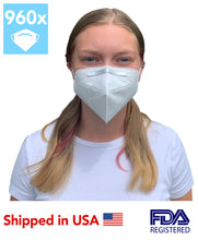 Load image into Gallery viewer, DAYLEAD FFP2/KN95 Efficient Nursing Protective Mask (960 Masks)