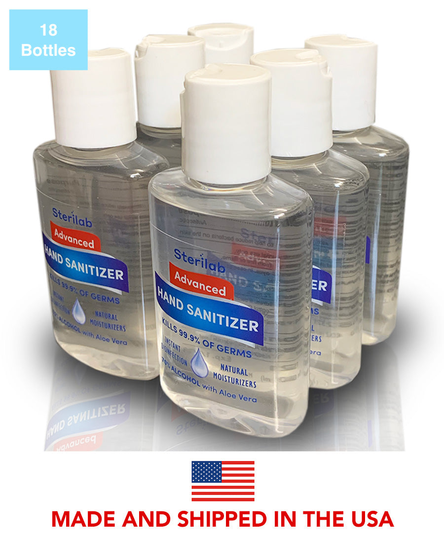 Disinfecting Hand Sanitizer 2 fl oz (18 Count)