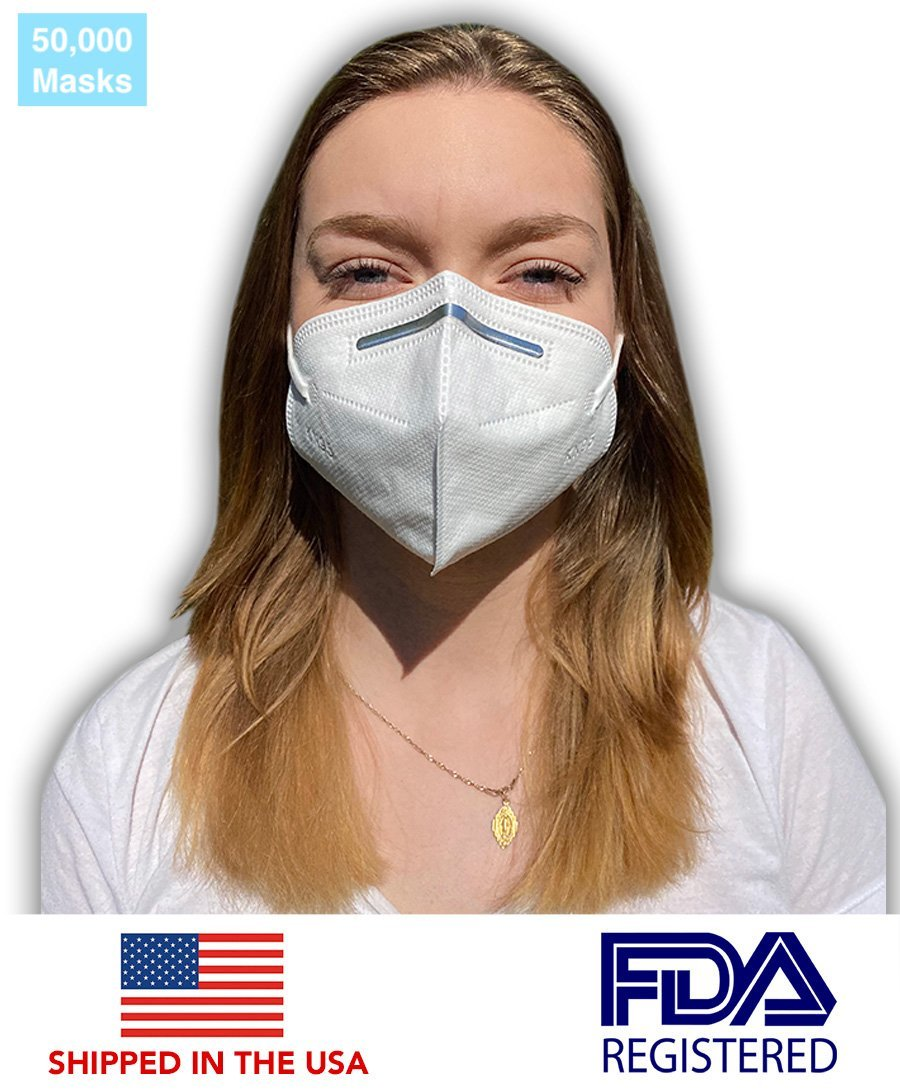 Authentic KN95 Protective Face Mask (50,000 Masks) - DMB Supply