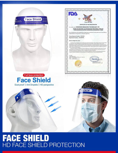 Face Shields (10 Shields) - DMB Supply