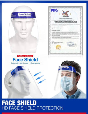 Face Shields (100 Shields) - DMB Supply