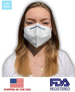 First Authentic KN95 Protective Face Mask (1000 Masks) - DMB Supply