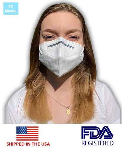 First Authentic KN95 Protective Face Mask (20 Masks) - DMB Supply