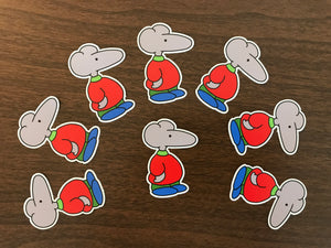 Mouse Die Cut Sticker