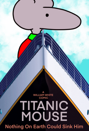 """Titanic Mouse"" Movie Poster"