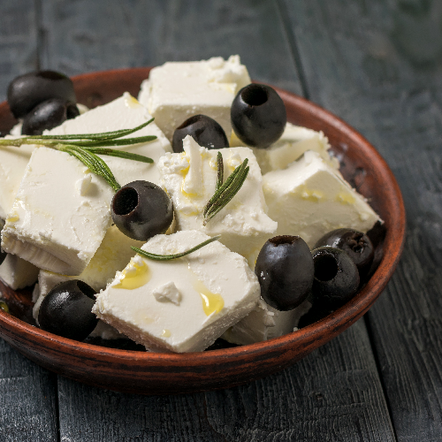 Chef Lippe's Greek Feta Cheese Kalamata Olives in Olive Oil
