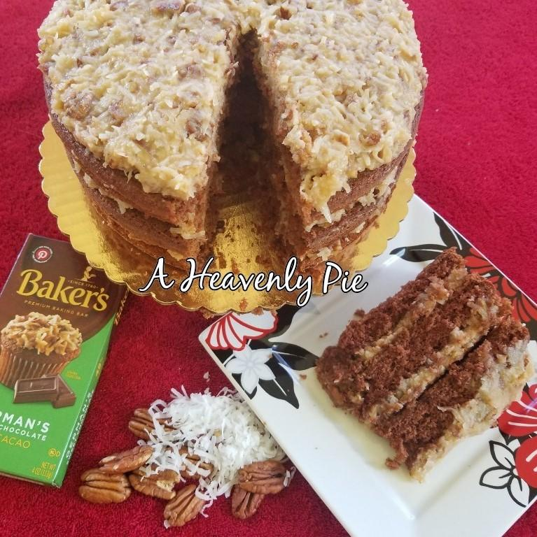 A Heavenly Pie - German Chocolate Cake