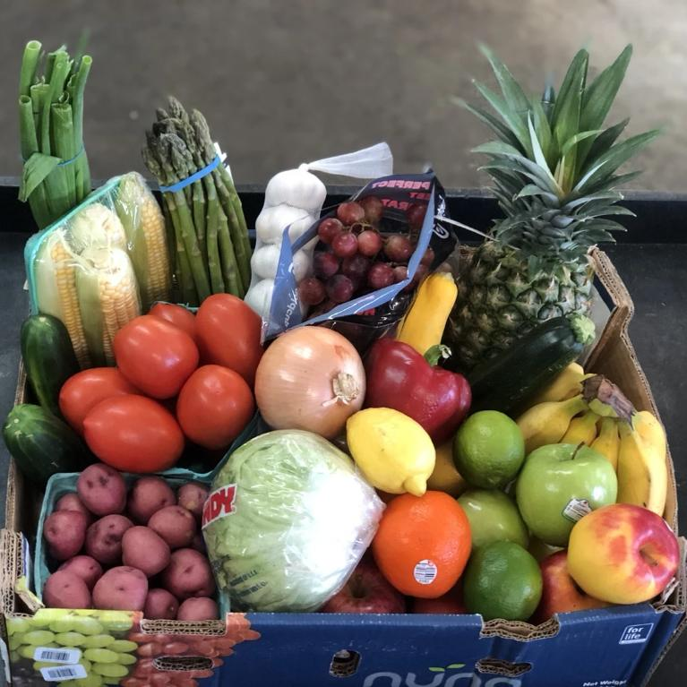 Young's Fruit and Veggie Box - Items May Vary