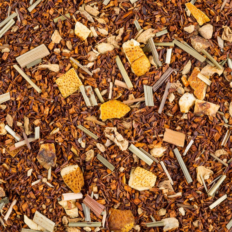 Tea and Chi Lemon Ginger Rooibos, Organic
