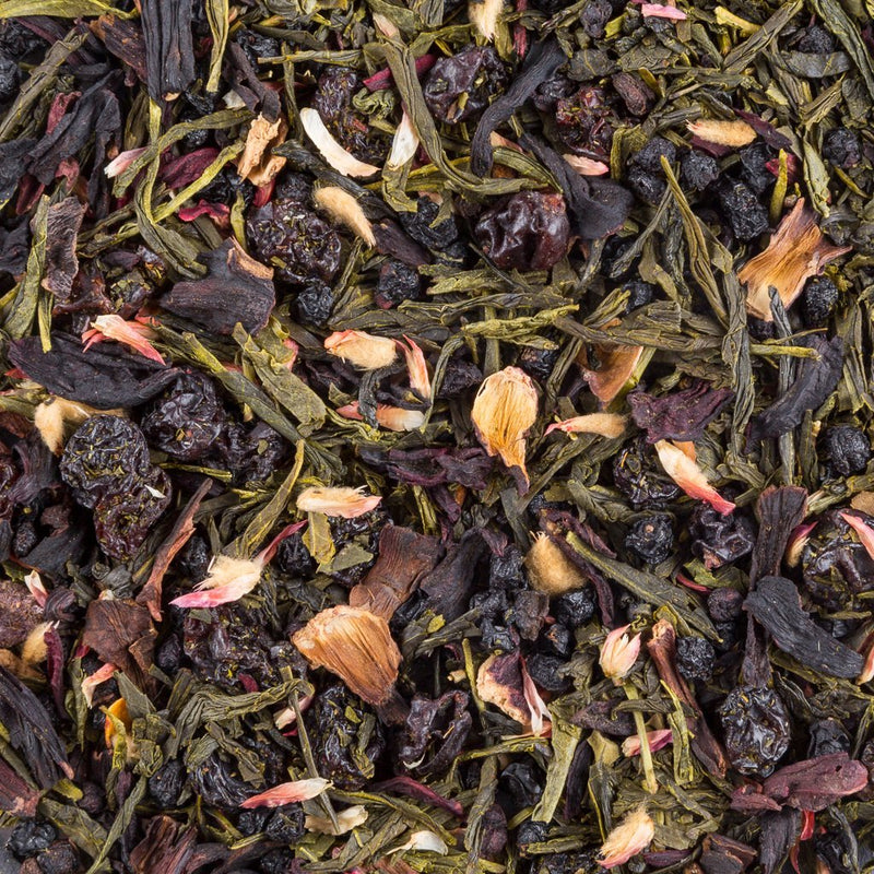Tea and Chi Winterberry Green, Organic