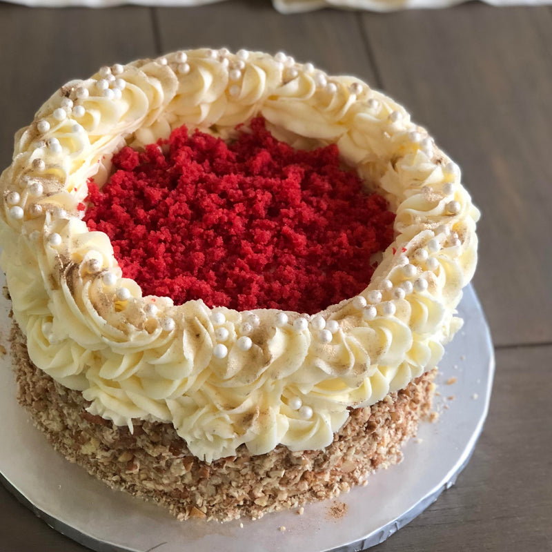 Nazhi's Slice of Red Velvet Cake