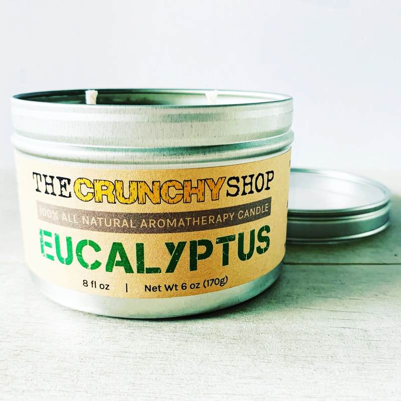 Crunchy Shop Aromatherapy Candles