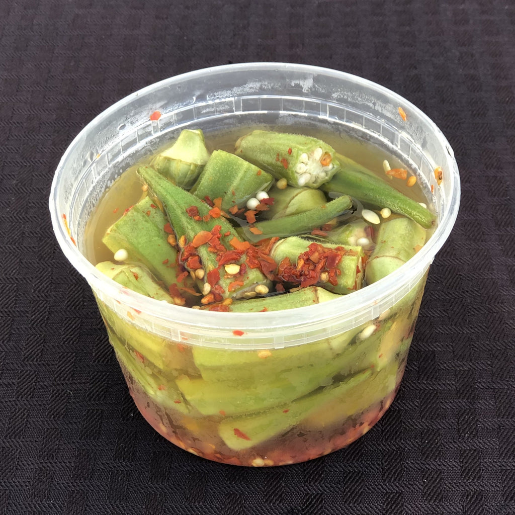 Dr. Pickle Spicy Okra