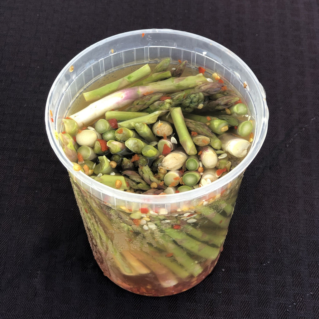 Dr. Pickle Spicy Pickled Asparagus