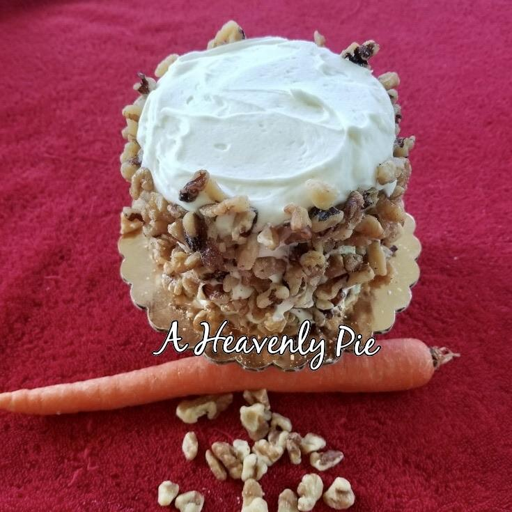 A Heavenly Pie - Carrot Cake