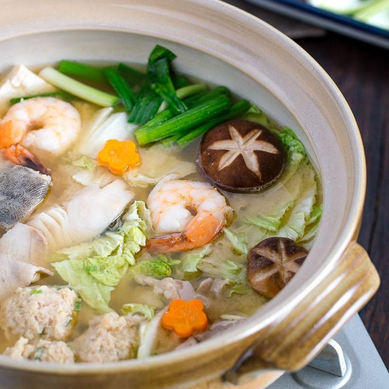 Chef Lippe's Nabemono - Japanese hot pot. Order by Wednesday.