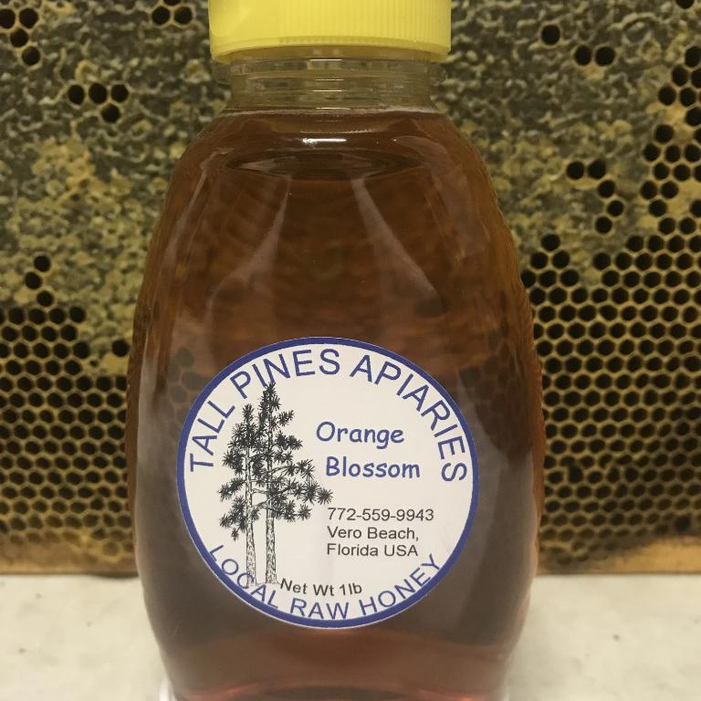 Tall Pines Honey - Orange Blossom