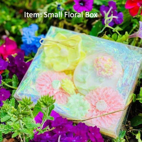 Bragg Family Soaps Floral Boxes