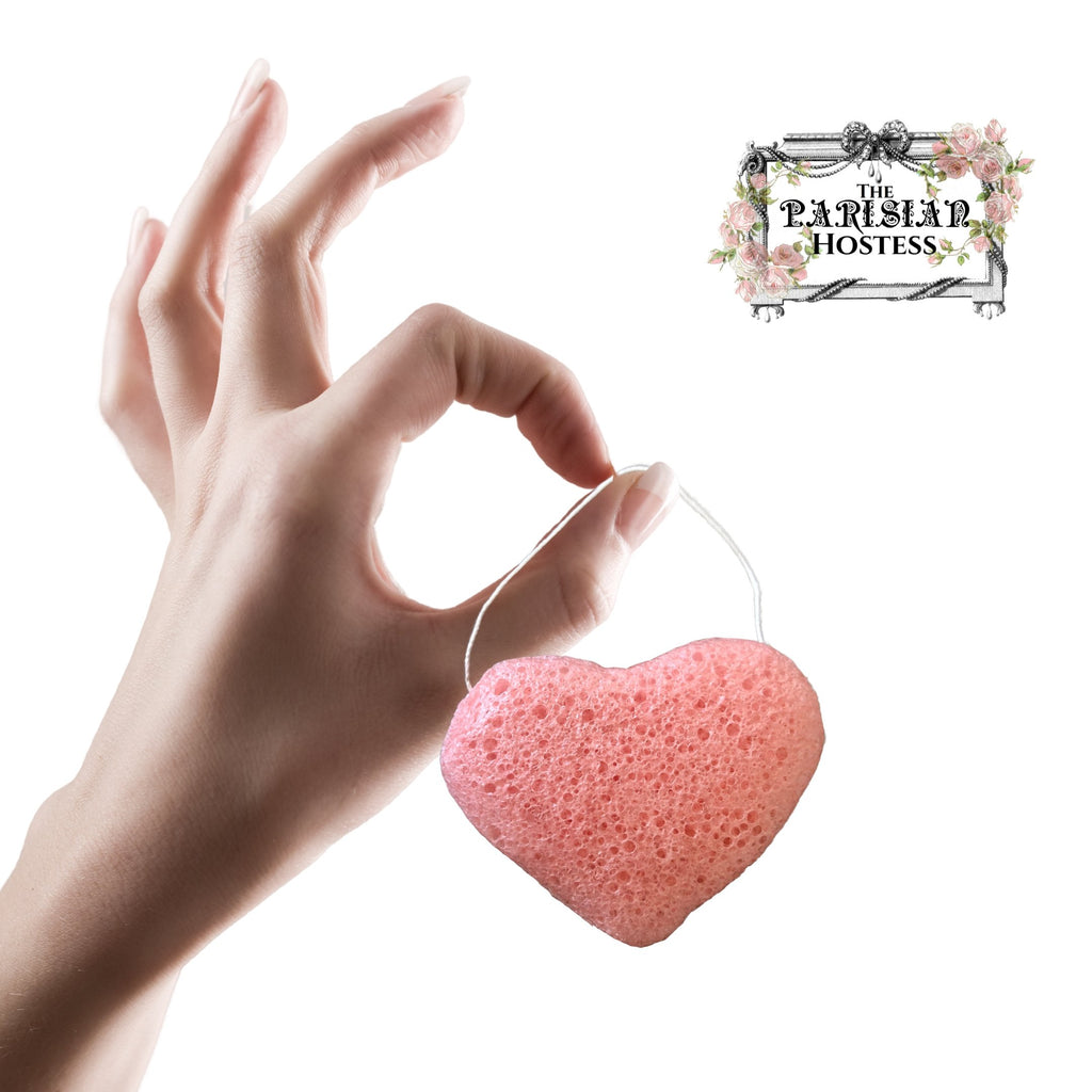 The Parisian Hostess All Natural Konjac Facial Sponge