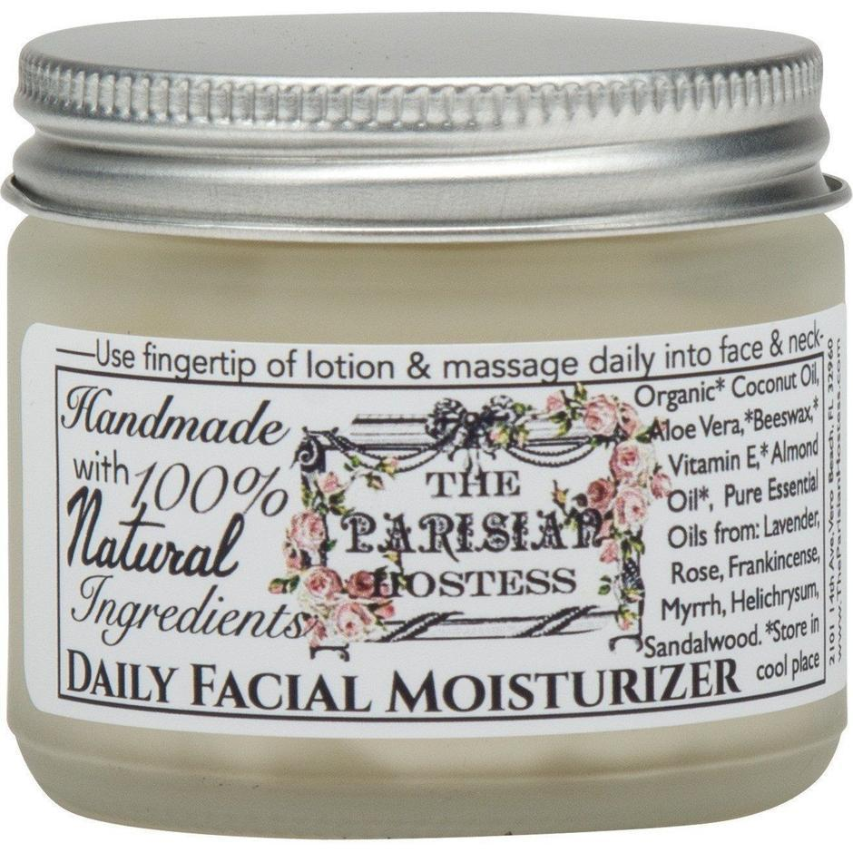 The Parisian Hostess All Natural Facial Moisturizer