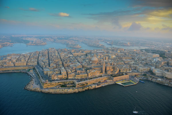 Aerial view of Malta, 3348