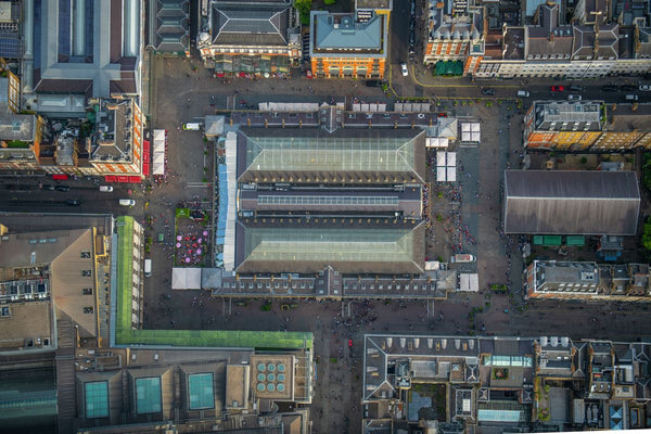 Aerial view of Covent Garden, London. 392590