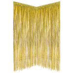 Gold Foil Fringe Curtain Photo Booth Backdrop (2 Pack)