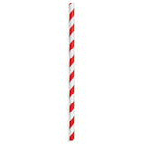 Red & Black Paper Straws (100 Pack)