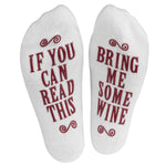 Bring Me Wine Ankle Socks