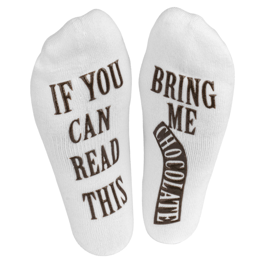 Chocolate Socks If You Can Read This Birthday Gifts For Her