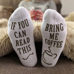 Bring Me Coffee Ankle Socks